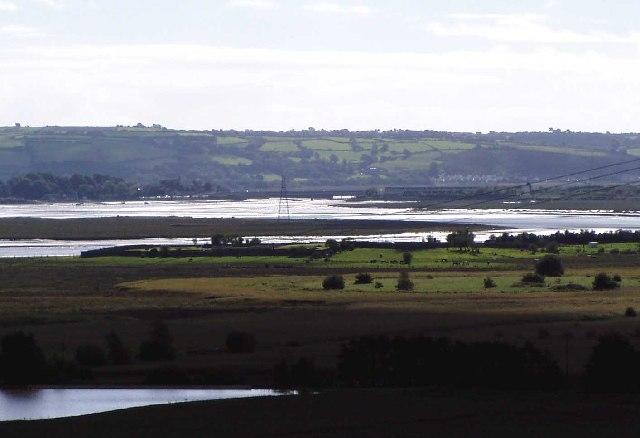 Loughor Estuary , near Llangennech
