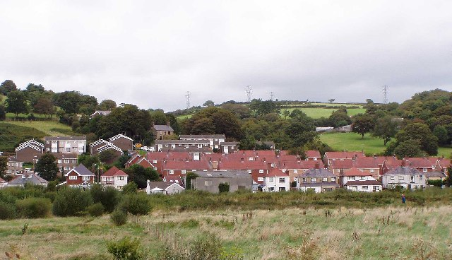 Part of the Village of Pwll Near Llanelli