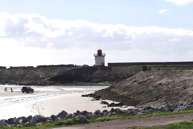 Entrance to Burry Port Harbour