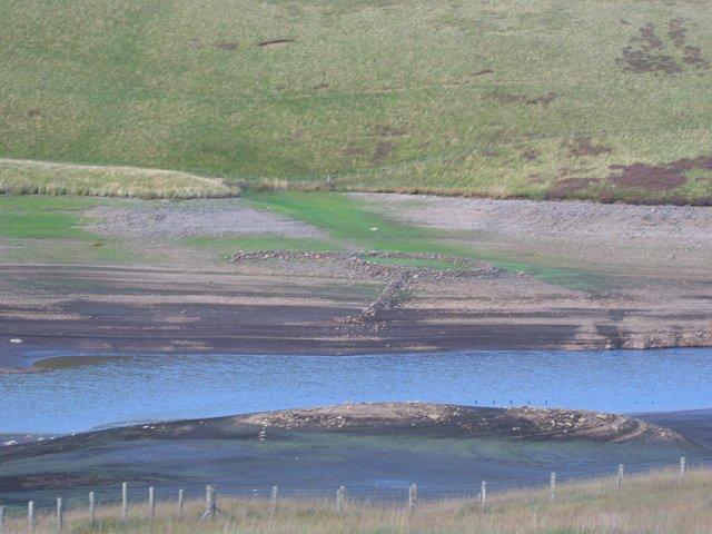 Upper Glendevon Reservoir.