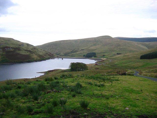 Lower Glendevon Reservoir.