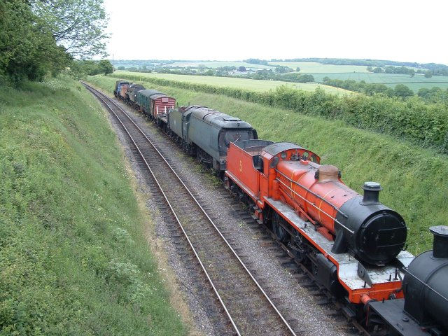 Mid-Hants Railway, Ropley Siding, Hampshire