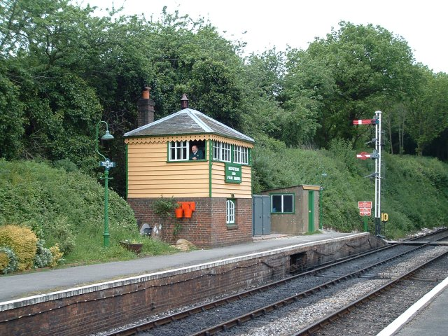 Signal Box, Medstead and Four Marks Station