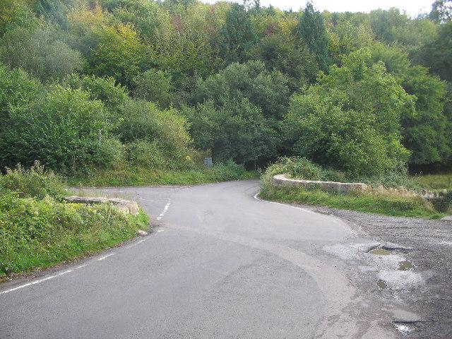 Bridge over Doncombe Brook