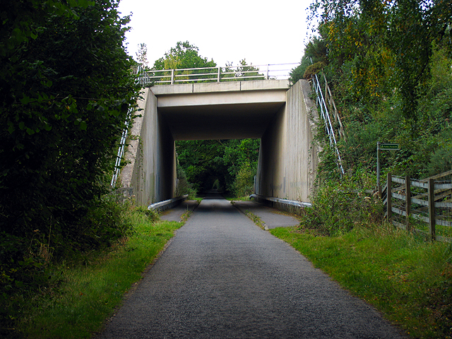A34(T) Bridge near Newtown