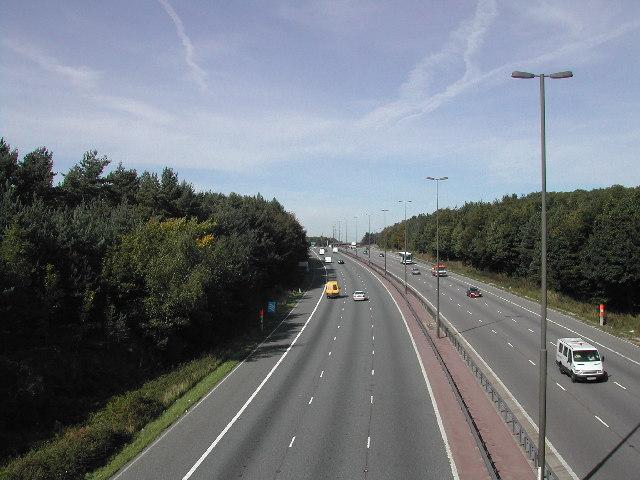 M1 near Junction 27