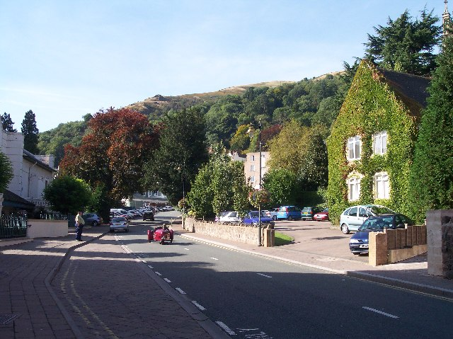 The Malvern Hills from Grange Road