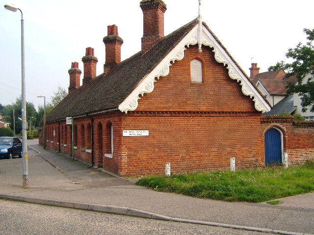The Royal Almshouses, Deans Walk, Bocking Churchstreet, Braintree