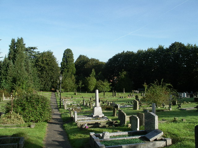 Chain Hill cemetery, Wantage