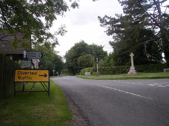 Kirtling Cross Roads