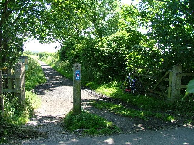 Railway Crossing Lane, Lancaster