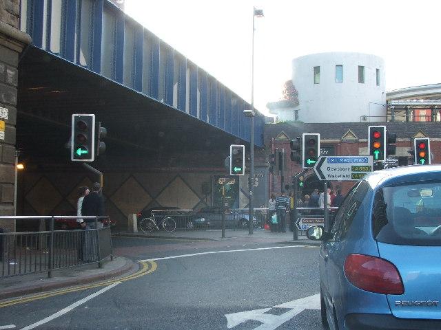Dark Arches, Leeds.