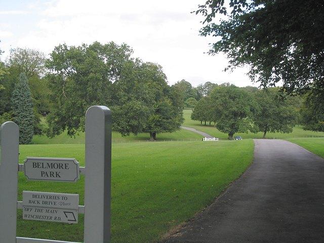 Belmore Park entrance to Belmore House