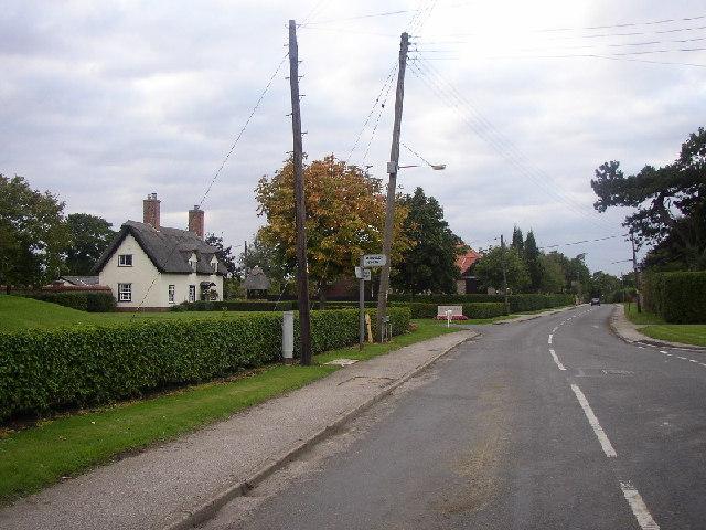 Main Street, Saxon Street