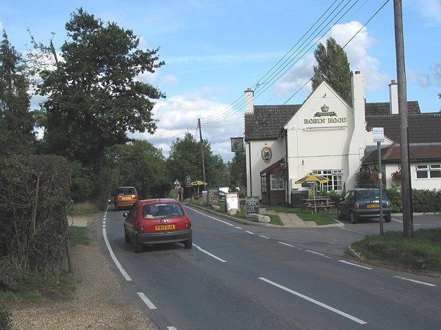 Durley Street (road & village)