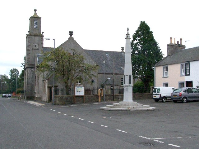 Dailly Parish Church and War Memorial