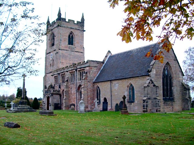 King's Bromley Church, Staffordshire