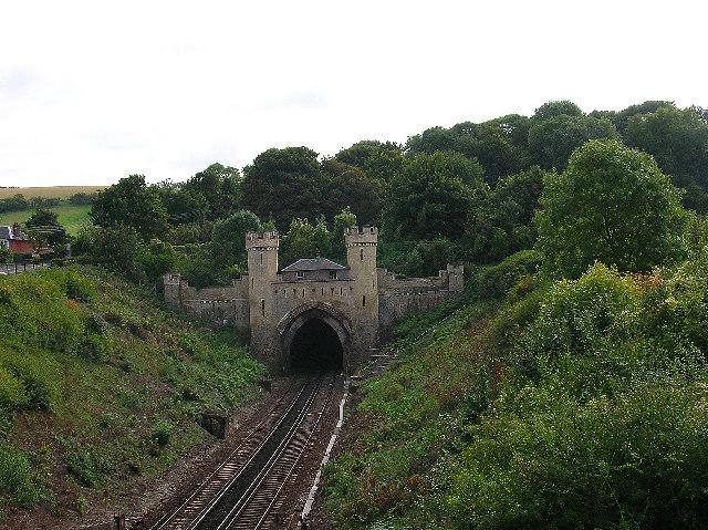 North portal, Clayton Tunnel