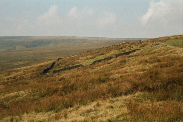 Remains of the 'Moor Cock' Inn, Rooley Moor, Lancashire