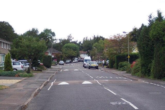 Cumberland Avenue, near Pitch Place, Guildford