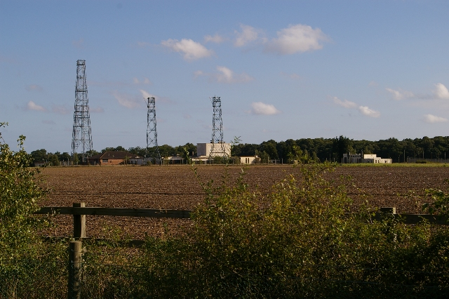Towers near Foxhall Heath, Ipswich