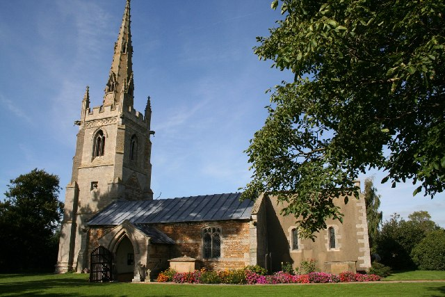 All Saints' church, Fenton, Lincs.