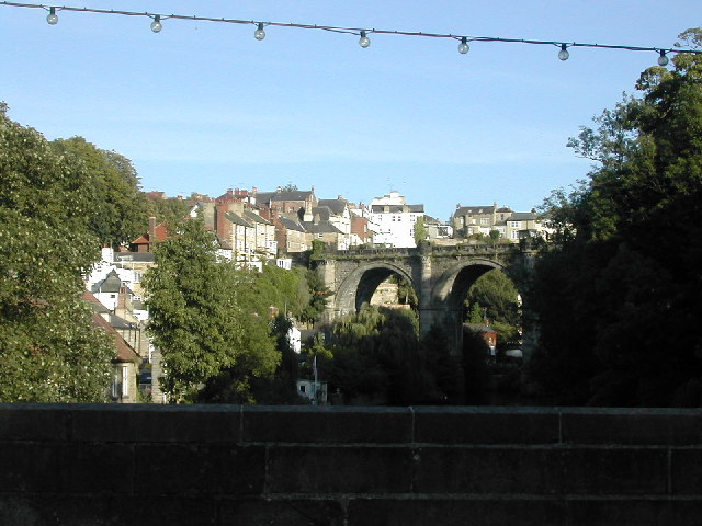 Knaresborough from the A59 road bridge