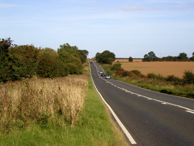 The A1033 to Withernsea