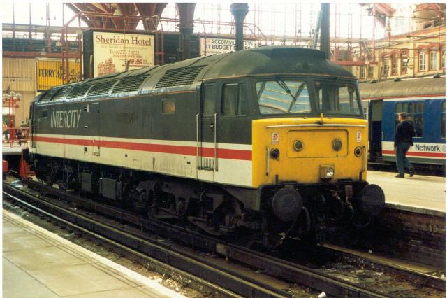 Diesel engine at Brighton Station