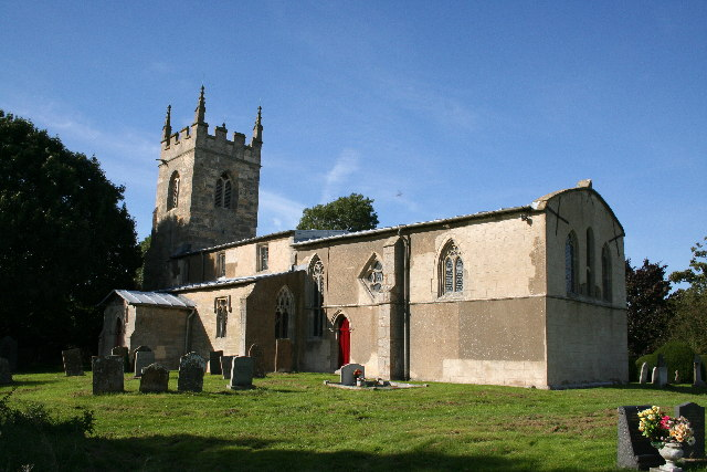 All Saints' church, Barnby-in-the-Willows, Notts.