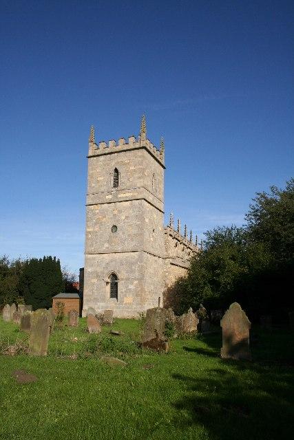 St.Michael's church, Bassingham, Lincs.