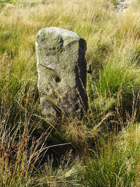 Gatepost on Greave Pasture