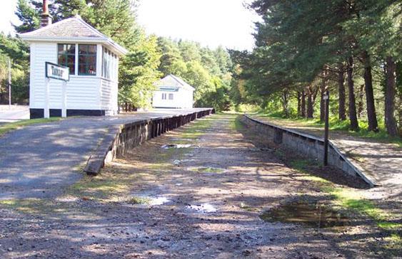 Knockando station, Morayshire