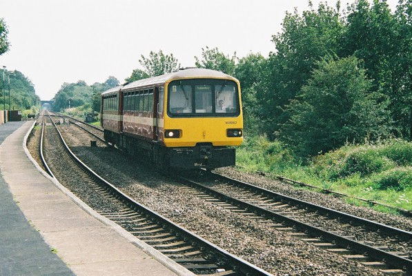 Lea Road station, Gainsborough, Lincolnshire