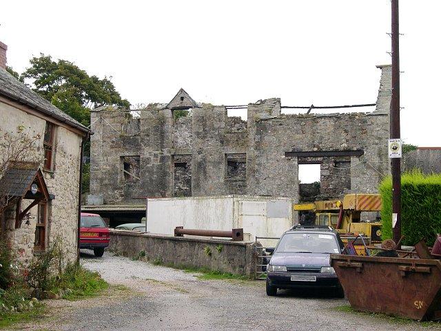 Derelict Industrial Building