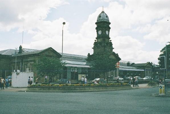 Scarborough railway station, exterior view