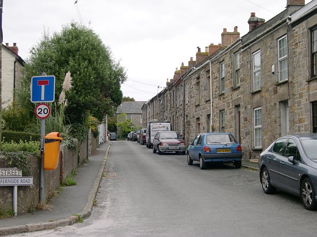 Terraced Housing, Penponds near Camborne