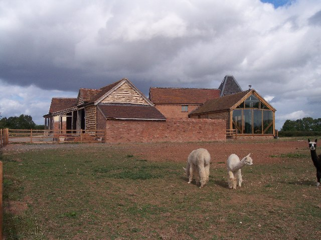 Folly Farm Oast House and Barn Conversion