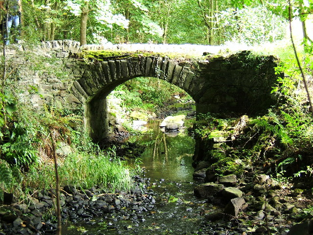 An old cartpath and bridge within Ardwell Estate