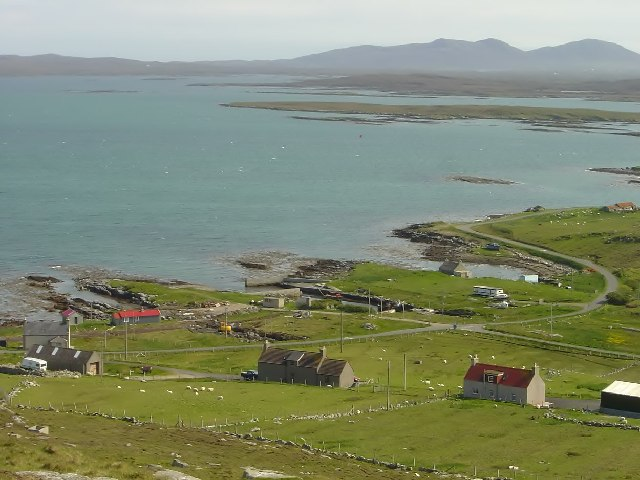 Looking Down From Berneray Radio Station