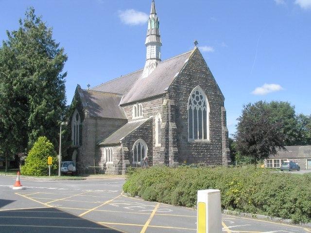 Church within the former Saint David's Mental Hospital