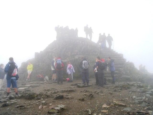 Summit Mound on Snowdon