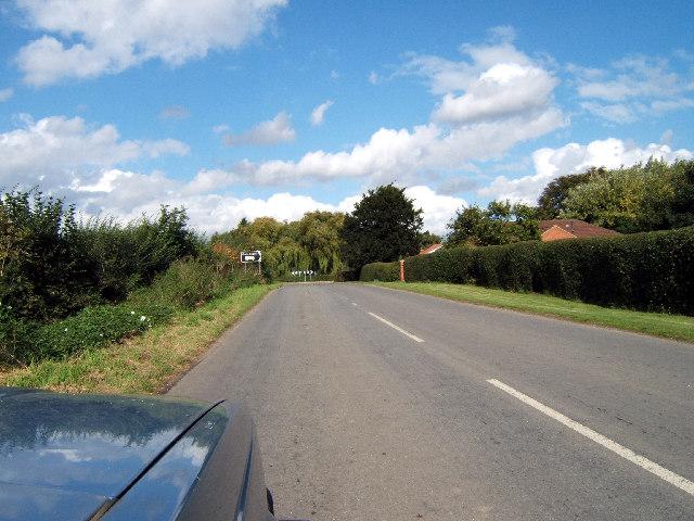 Soft (or Soff) Lane junction at South End