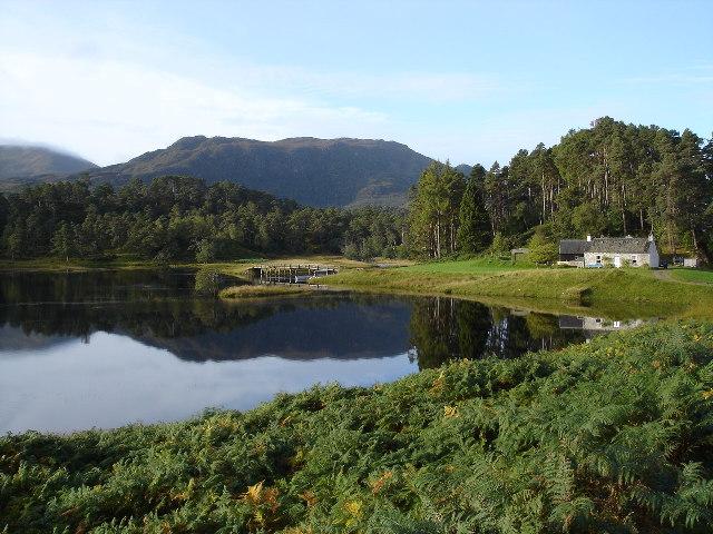 Reflection of Loch Affric