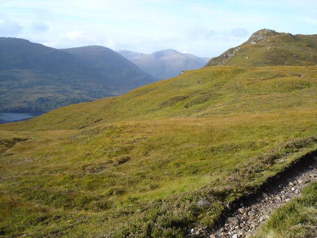 Hillside above Loch Affric