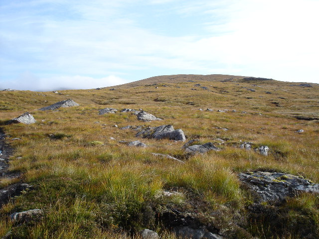 The South-West ridge of Am Meallan
