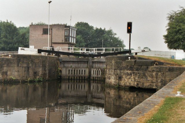 Woodlesford Lock No 4, Aire and Calder Canal, Yorkshire