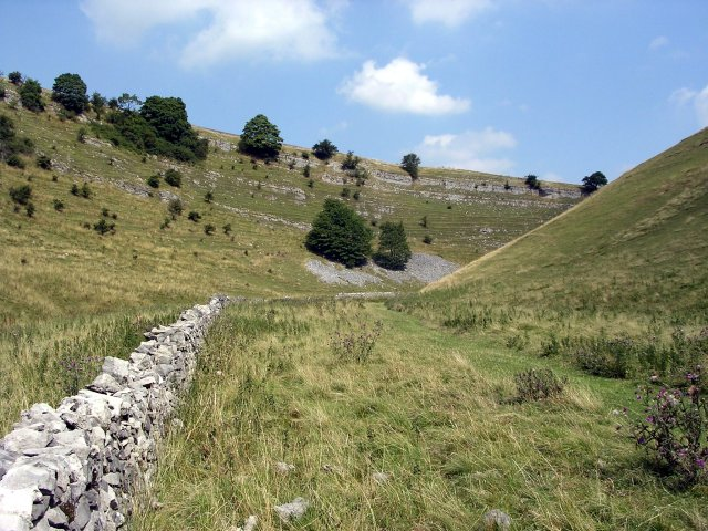 Cressbrook Dale, looking north