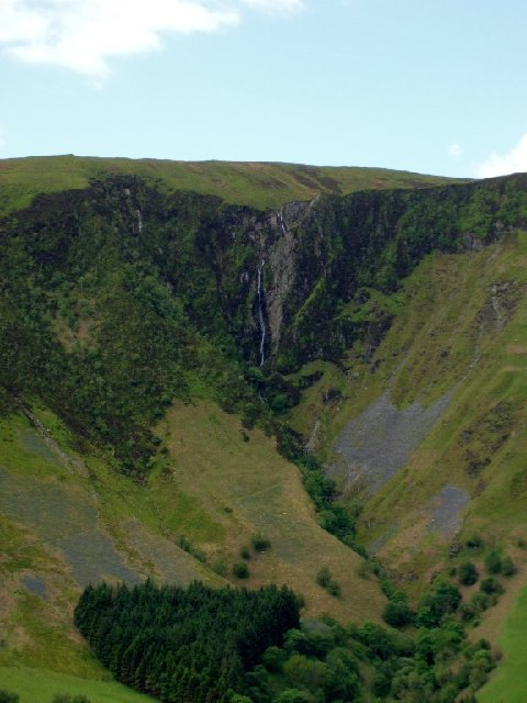 Maesglase waterfall