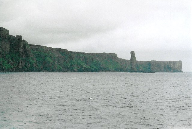 The Sow, and Old Man of Hoy, from the Scrabster ferry